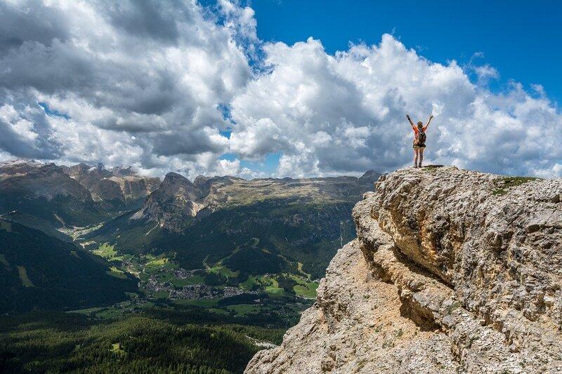 paysage de montagne carte postale vacances