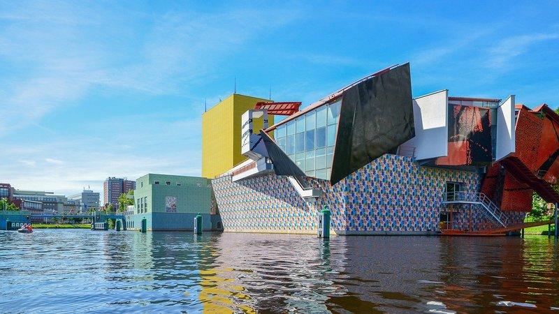 architecture colorée Groningen