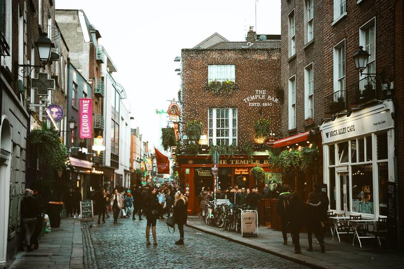 Rue de Dublin Temple Bar