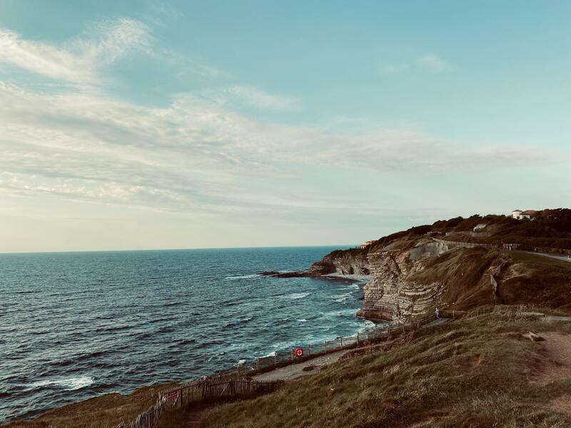 road-trip pays basque - saint jean de luz - océan altantique