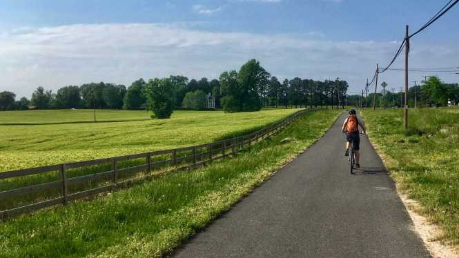 Biking Virginia's Capital Trail is a great excuse to get outside!