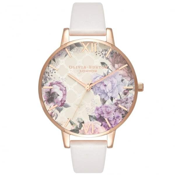 Olivia Burton OB16EG97 Glasshouse Leather Watch available ...