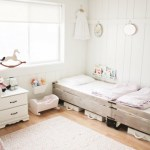 Little Girls Shared Bedroom – Small Space Makeover