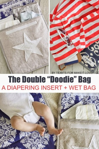How to Make a Portable Changing Pad for Baby
