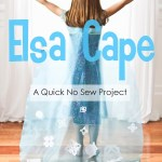 Do-It-Together Elsa Cape {No Sew}