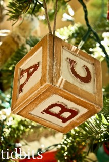 ABC Ornament