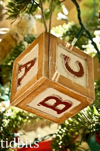 Block of Wood – Ornament