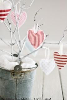 Hanging Heart Softies – Valentines Decoration