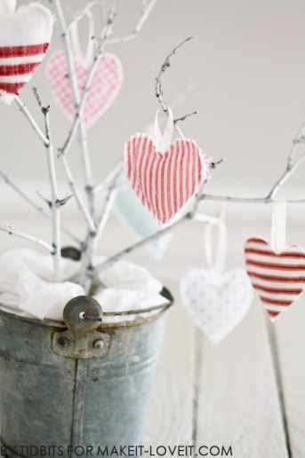 Hanging Heart Softies – Valentines Decoration