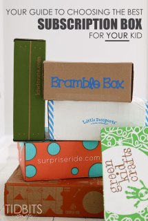 Your Guide to Choosing the Best Subscription Box for your Kid