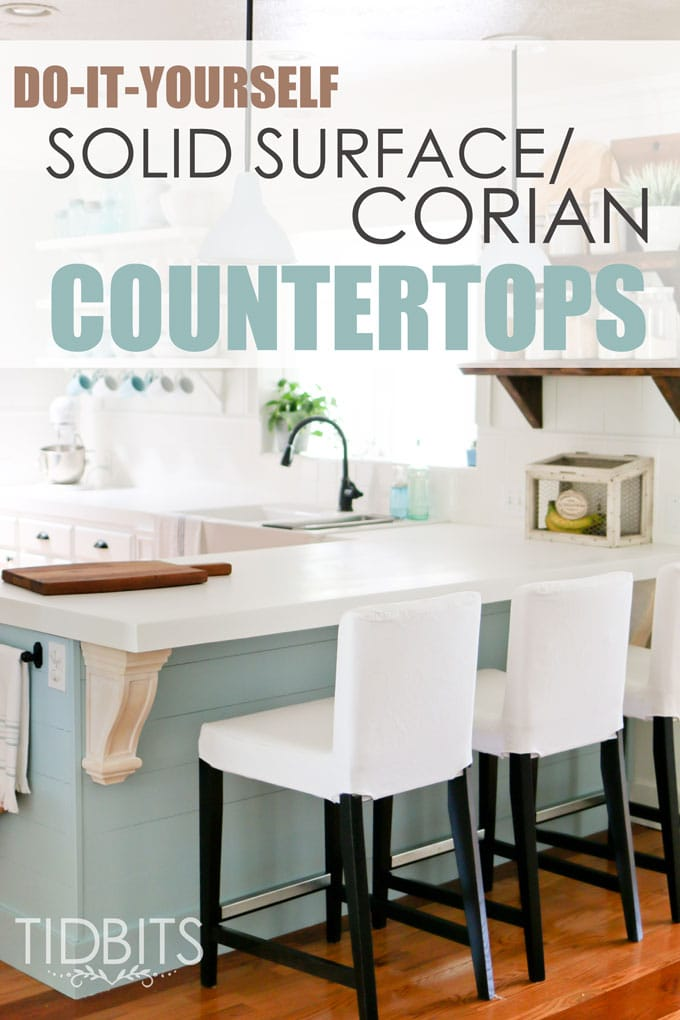 DIY Solid Surface/Corian Countertops. Save Thousands Of Dollars, And Still  Get A