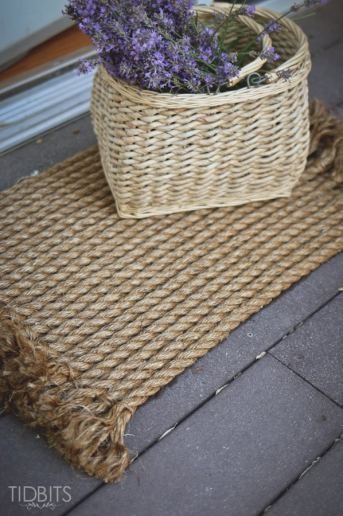 From Rope to Rug | A DIY Tutorial