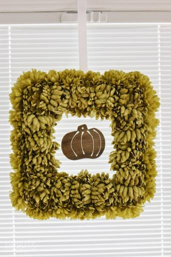 DIY Fall Floral Wreath