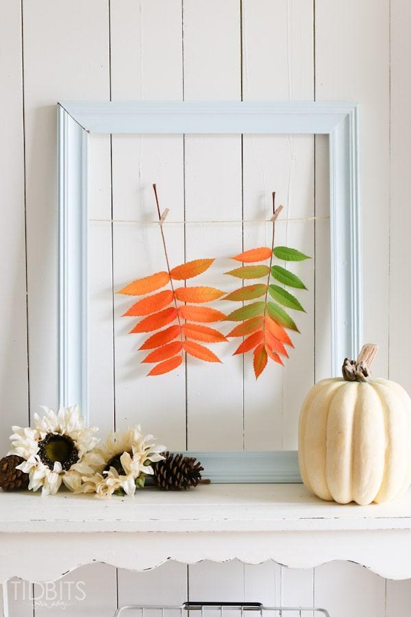 Fall Entry Way Decor