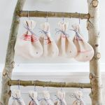 Christmas Countdown Grain Sack Bags