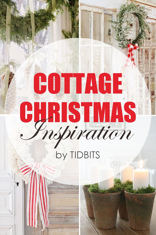 Cottage Christmas Inspiration round-up.