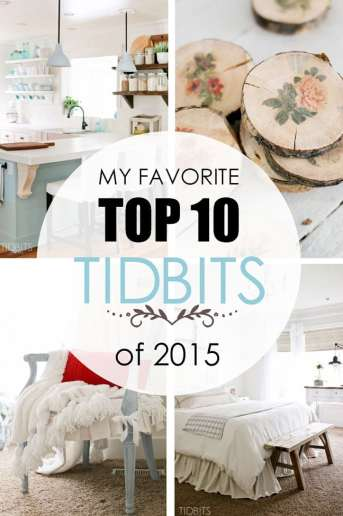 My Favorite Top 10 TIDBITS of 2015