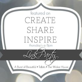 Featured On_Create Share Inspire Link Party