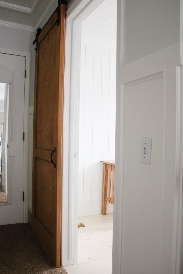 Diy shiplap pine wood floors bathroom makeover progress tidbits