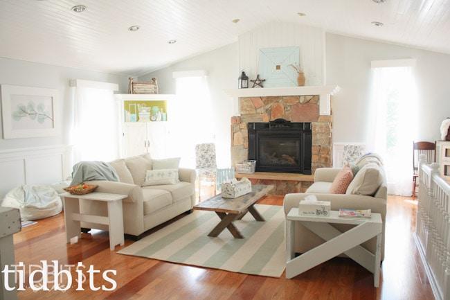 White Cottage Living Room-2
