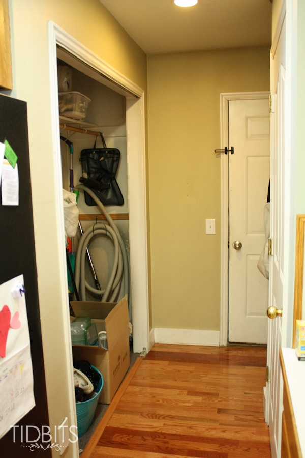 Mudroom before and after tour.