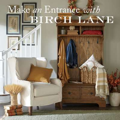 Make and Entrance with Birch Lane