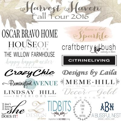 Harvest Haven Fall Home Tour 2016