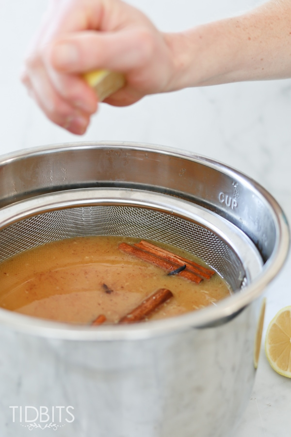 Homemade Wassail made in the pressure cooker, for the most powerful infusion of seasonal flavors!