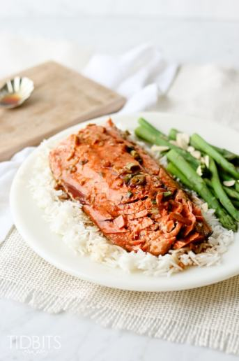 Pressure Cooker Teriyaki Salmon