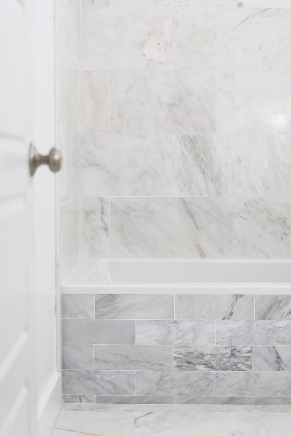How to Install Marble Tile - Tidbits