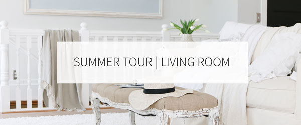 Summer Tour in the living room.