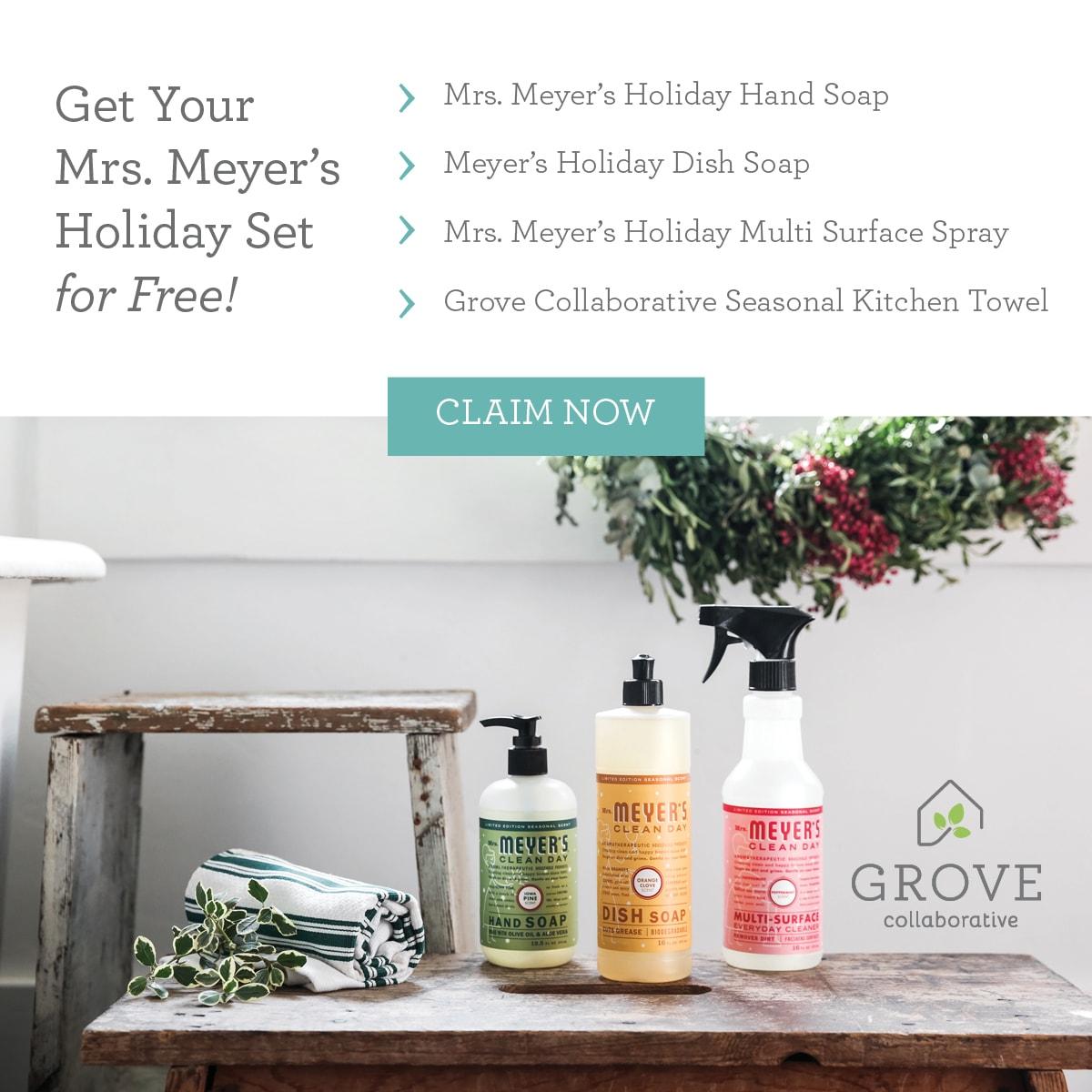 Grove Collaborative Seasonal Offer