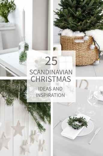 25 Scandinavian Christmas Ideas and Inspiration