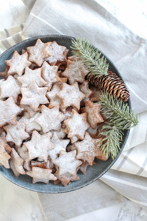 christmas star cookies