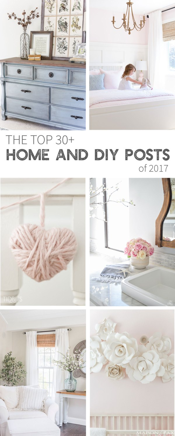 The top 30+ home and DIY posts of 2017