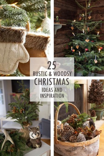 Rustic and Woodsy Christmas Ideas and Inspiration