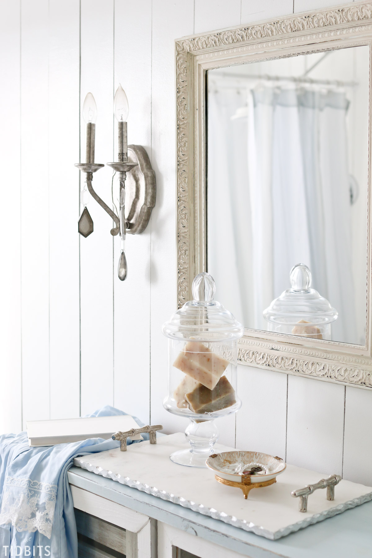 Spring master bathroom refresh tidbits for Spring bathrooms