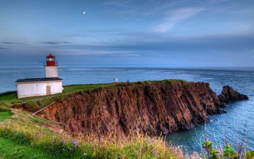 Cape D'Or Lighthouse, Bay of Fundy, Nova Scotia