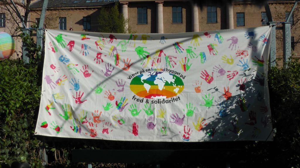 Fred & Solidaritet Foto: TTF - aktiv mod krig