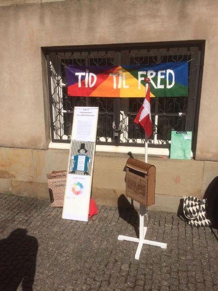 Statsminister TID TIL FRED - aktiv mod krig