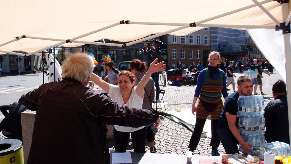 Fred & Solidaritet Foto: Jan Henningsen