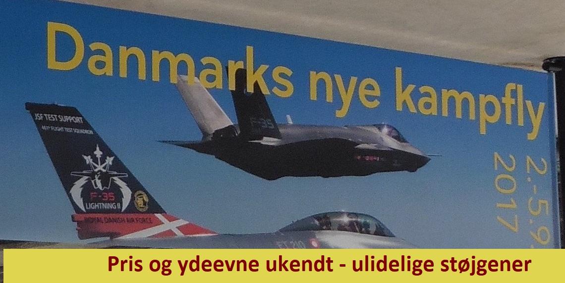 Gabende huller i beslutningsgrundlaget for købet af kampfly