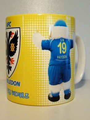 Back of Haydon mug