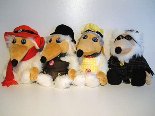 Orinoco, Tobermory, Madame Cholet and Uncle Bulgaria