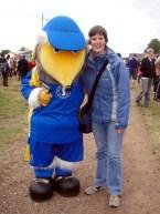 Haydon the Womble and Tara at Wimbledon Village Fair