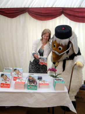 Uncle Bulgaria sees the new Wombles books
