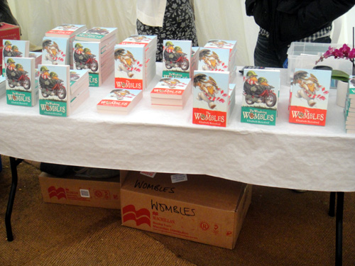 The Wombles book stall at Wimbledon Bookfest