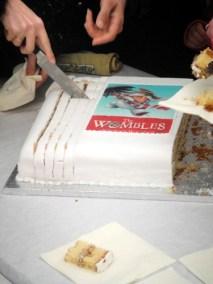The Wombles cake at Wimbledon Bookfest