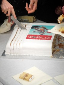 The Wombles cake at Wimbledon Bookfest