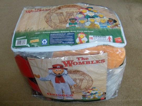 Orinoco costume packaging